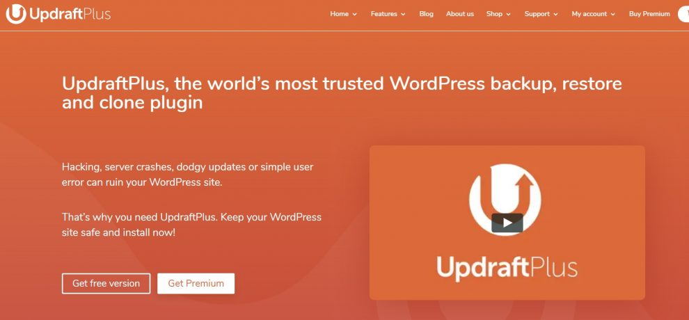 plugin migrasi wordpress updraftplus