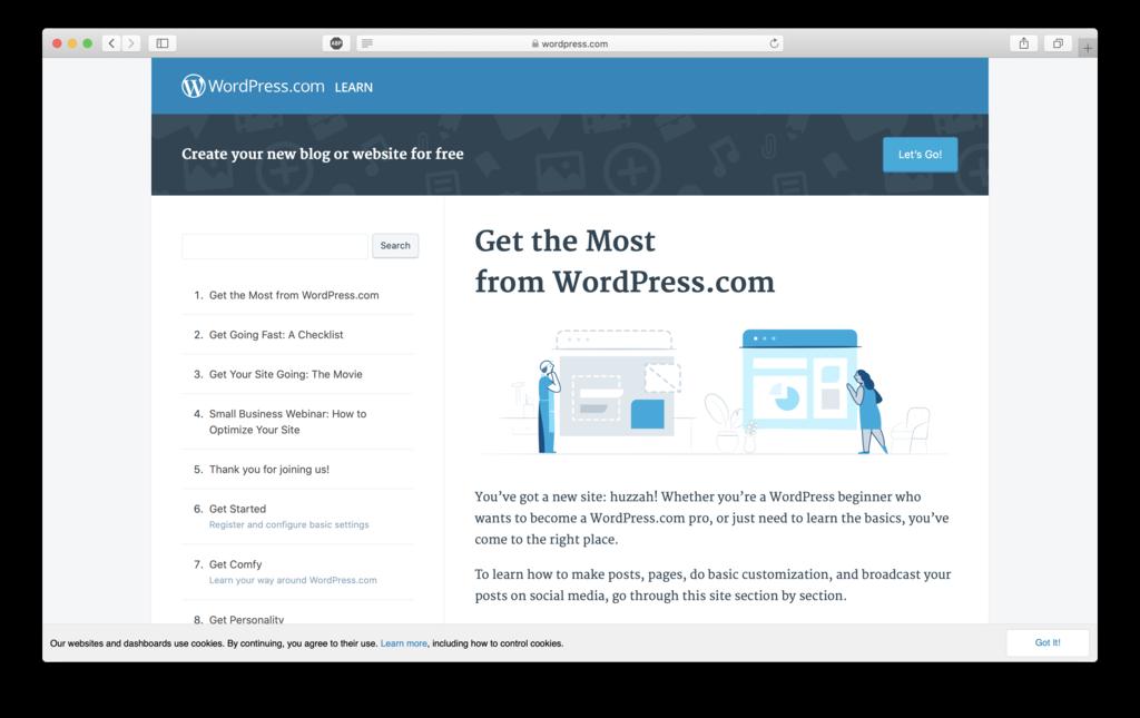 kursus resmi wordpress