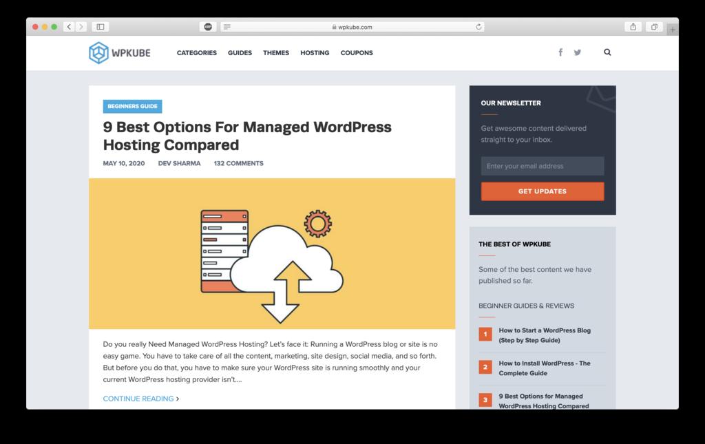 Belajar WordPress untuk pemula di WPKube
