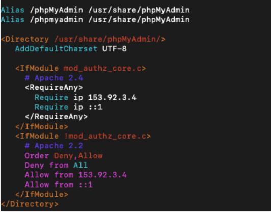 contoh phpmyadminconf