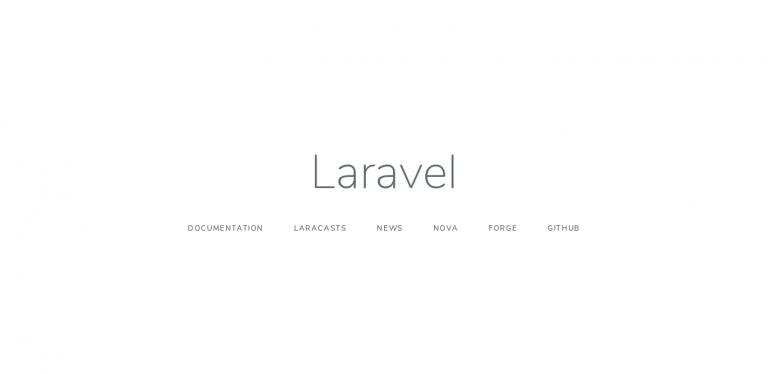 Install laravel Ubuntu 18.04 - Landing Page Laravel