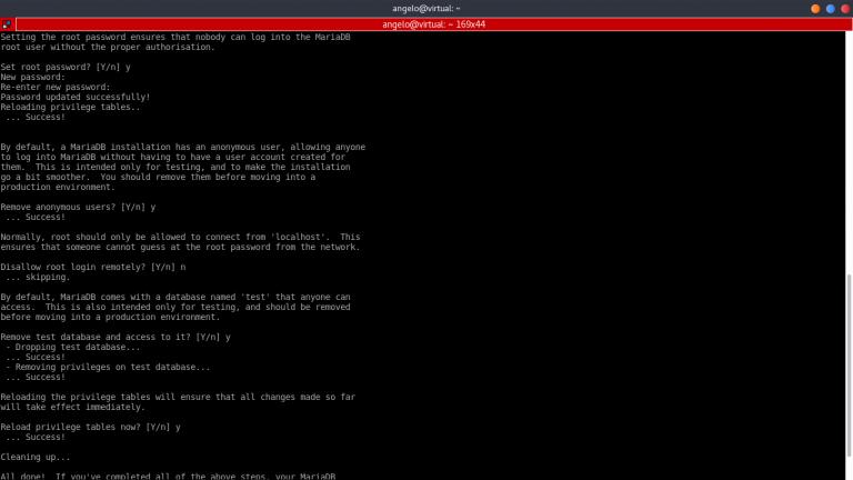 Konfigurasi MariaDB Ubuntu