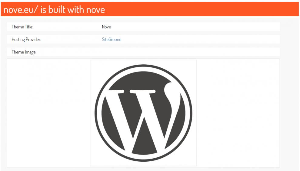 scanwp wordpress theme detector
