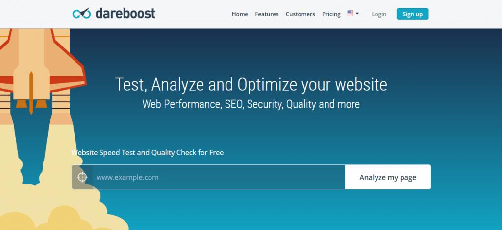 Dareboost untuk cek kecepatan loading website
