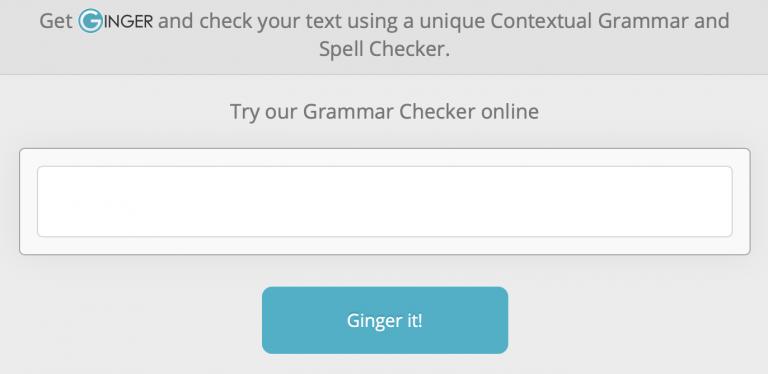 Cek grammar bahasa Inggris - Ginger