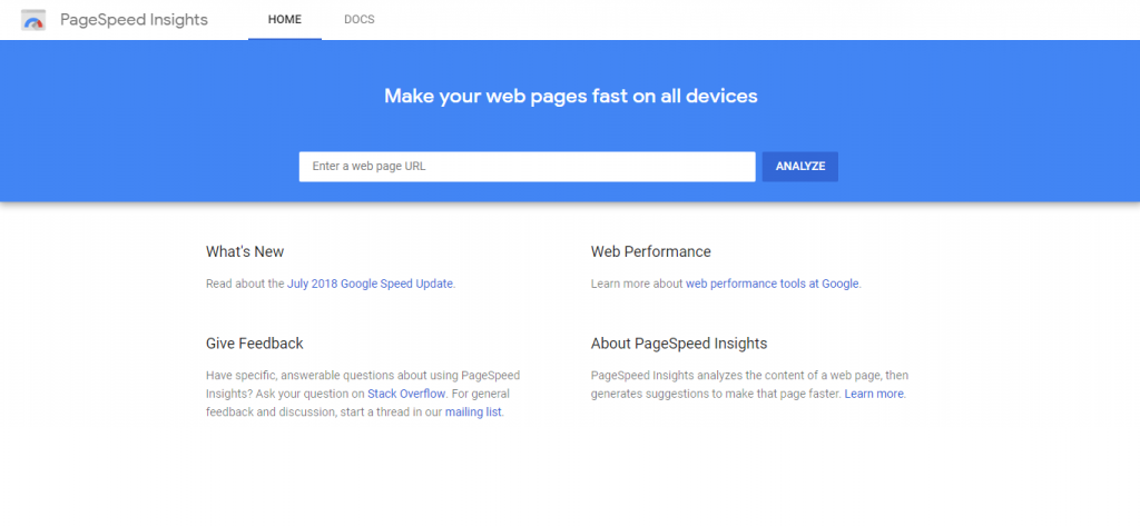 Google PageSpeed Insights, cek kecepatan load website