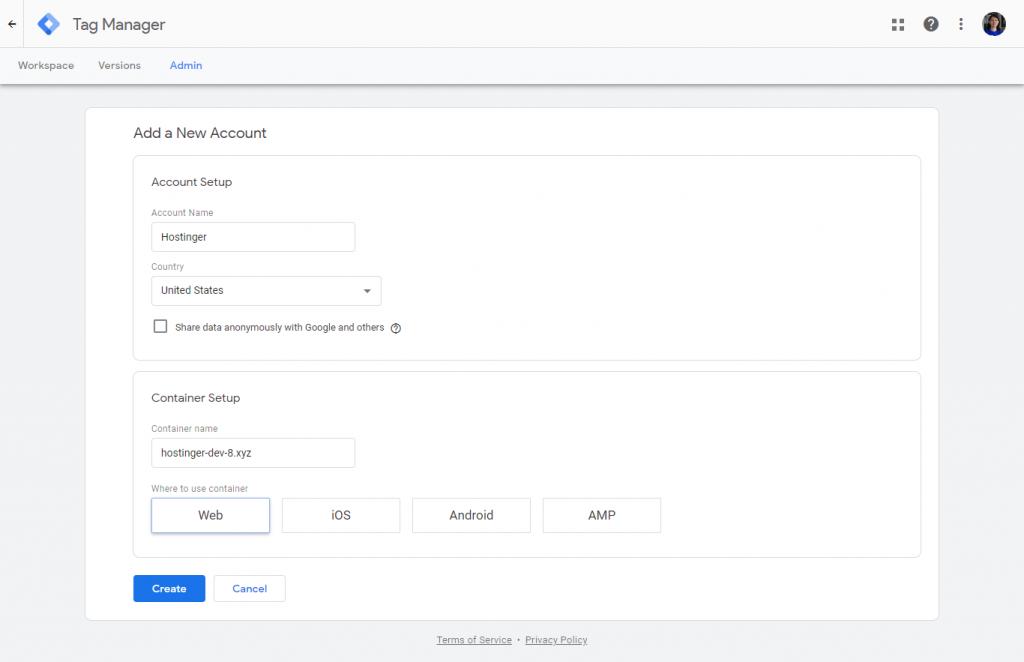 Cara instal Google Tag Manager 1
