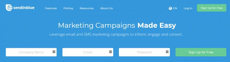 Cara mempromosikan website supaya banyak pengunjung dengan email marketig - SendInBlue