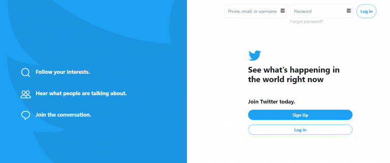 cara promosi website di twitter