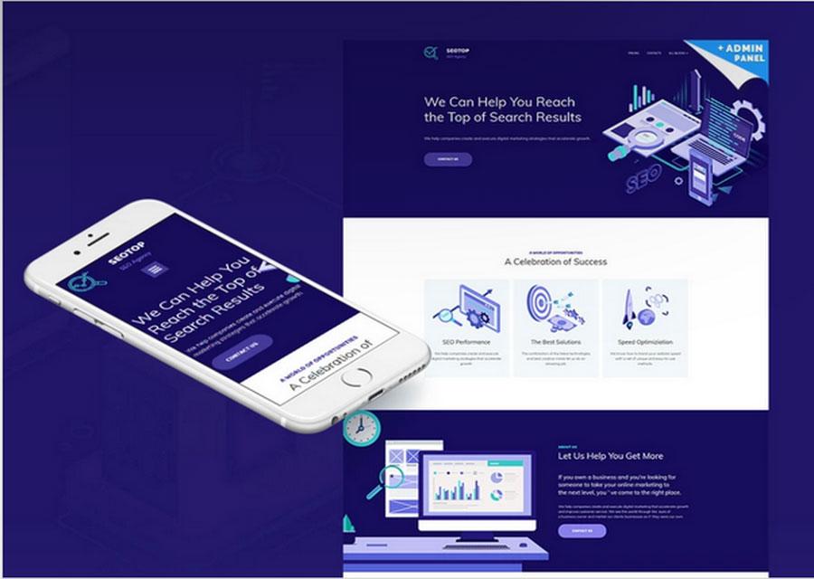 Desain digital marketing dan SEO
