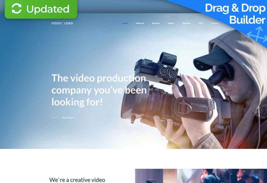Desain premium untuk studio video