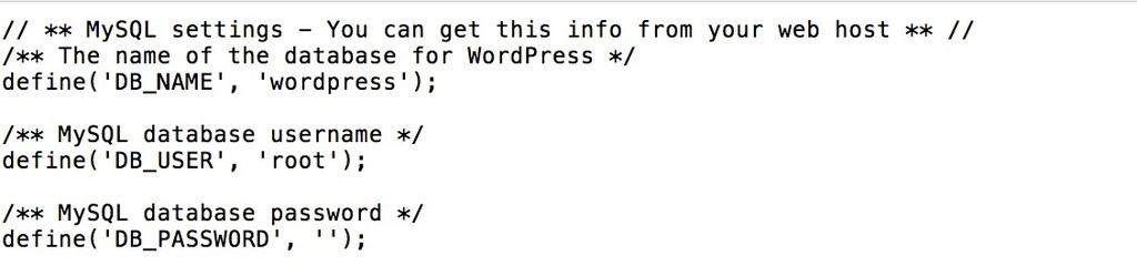 File konfigurasi sampel wp