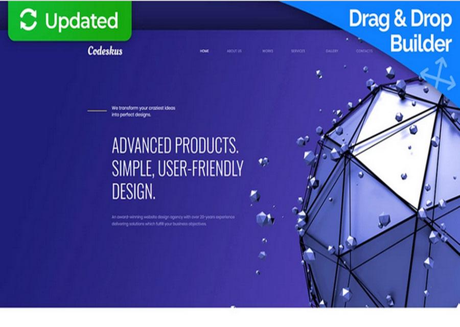Tema untuk perusahaan desain web
