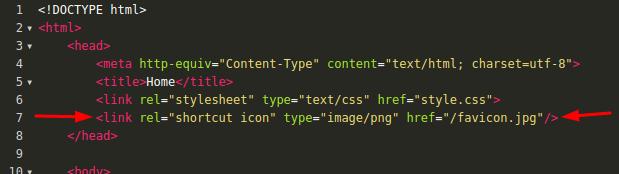 Cara membuat favicon di HTML