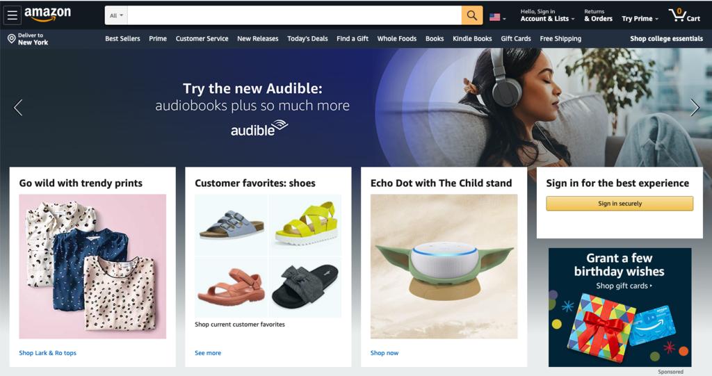 Amazon sebagai contoh apa itu e-commerce