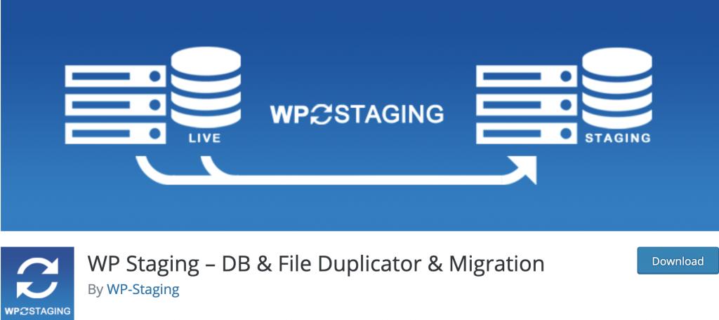 Plugin WordPress-staging