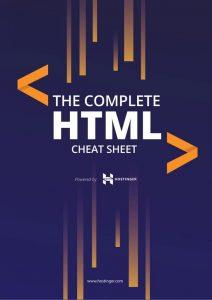 HTML Cheat Sheet untuk Belajar HTML