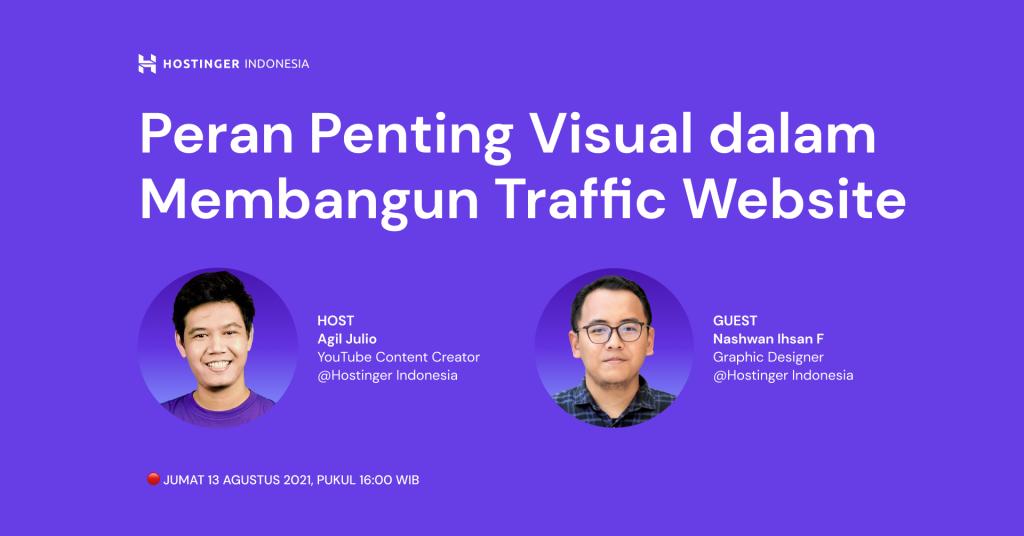 Peran Penting Visual dalam Membangun Traffic Website