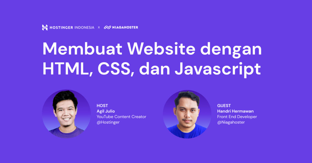 Membuat Website dengan HTML, CSS, dan JavaScript