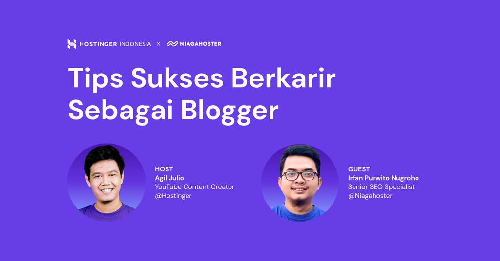 Tips Sukses Berkarir Sebagai Blogger